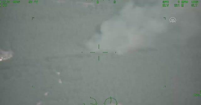 Bayraktar TB2 103 yangını ilk anda tespit etti