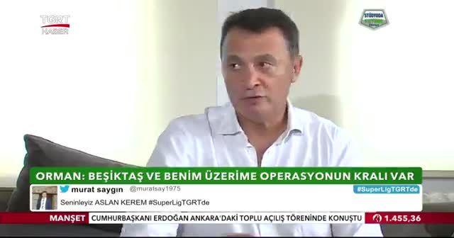Beşiktaş Eski Başkanı Fikret Orman, TGRT Haber'e konuştu!