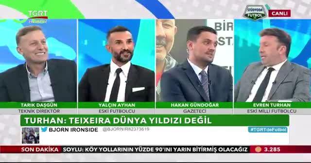Eski Milli futbolcu Evren Turhan'dan çarpıcı Alex Teixeira yorumu