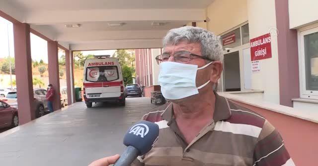 Manavgat'ta alevlerin arasında 3 saat yürüdü kurtuldu
