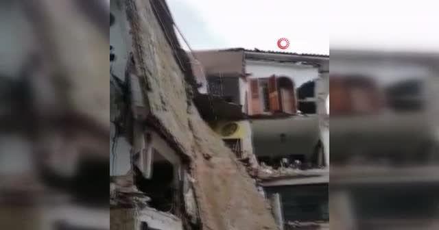 Meksika'yı vuran Nora Kasırgası'nda bir çocuk hayatını kaybetti