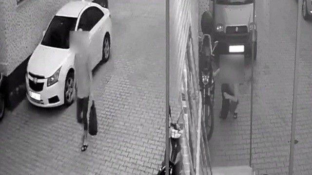 Motosikleti çalamayınca içindeki benzini çaldı