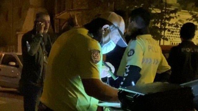 Alkollü sürücüden polise kelepçe ısrarı