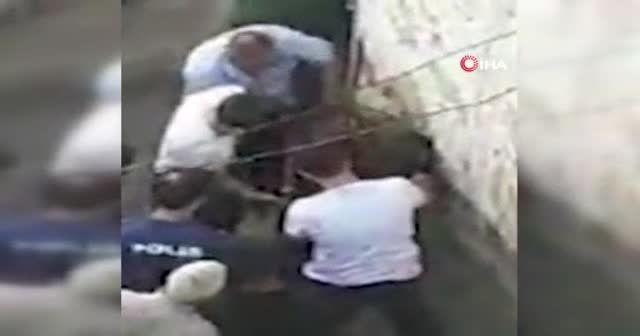 Çarşaflı erkek hırsız, soyduğu evin damında uyuyakalınca yakayı ele verdi