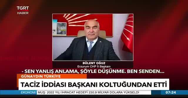 CHP'li başkanın taciz skandalının ses kayıtları çıktı
