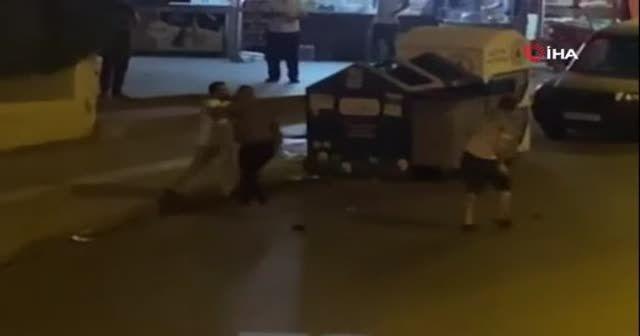 Defalarca bıçakladı, sokak ortasında kovaladı