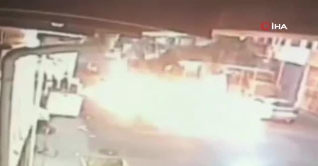 İstanbul'daki kimya fabrikası yangınında yeni görüntüler ortaya çıktı