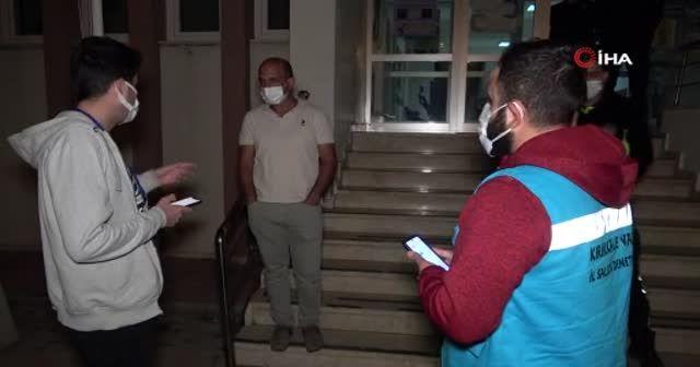 Kovid-19 hastasının bin kilometrelik yolculuğu cezayla bitti