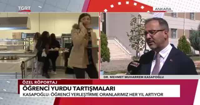 Bakan Kasapoğlu'ndan CHP'ye yurt cevabı