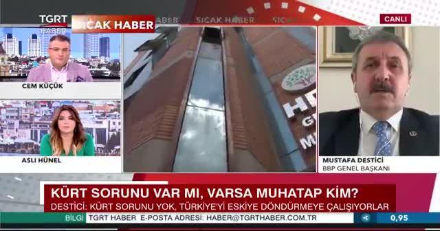 Mustafa Destici'den sert eleştiri: Akşener CHP'nin yedeği mi?