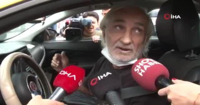Ceza yiyen taksici gazetecilere sitem etti