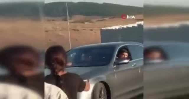 Eski futbolcu Öztürk'ün dehşet saçtığı anlar kamerada