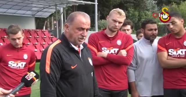Galatasaray'da Kerem Aktürkoğlu ile Marcao barıştı
