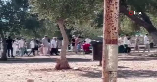Mescid-i Aksa'ya 529 fanatik Yahudi'den baskın
