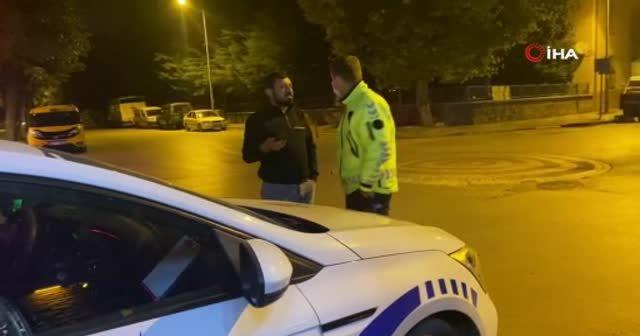 Polisin alkollü sürücü ile imtihanı: Alkolmetreyi pos cihazı zannetti