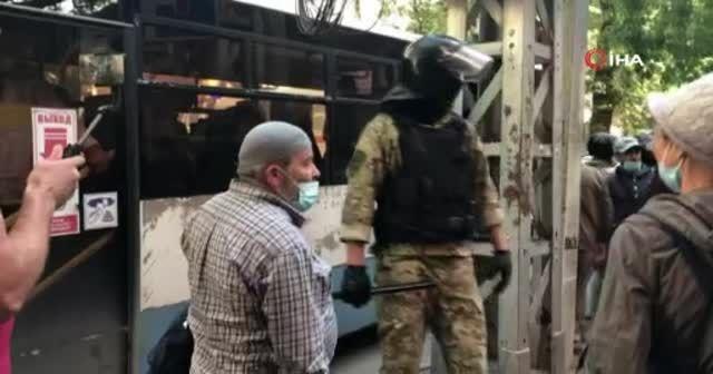 Rusya en az 45 Kırım vatandaşı gözaltına alındı