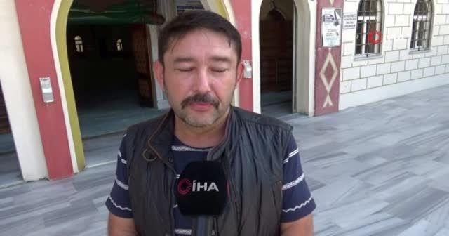 Sultangazi'de imama sopalı saldırı anları kamerada