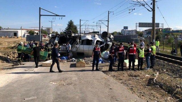 Tekirdağ'daki kazada makinistten tepki çeken yorum