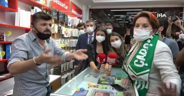 Vatandaştan Meral Akşener'e zor soru: Aynı ithamları Fetullah Gülen'e söyleyebilir misiniz?
