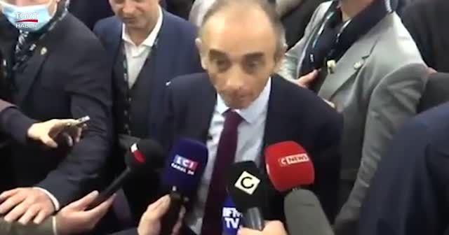 Fransa cumhurbaşkanı adayı gazetecilere silah doğrulttu