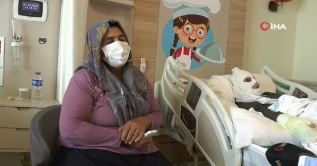 Gaz kaçağını çakmakla kontrol eden kadın yaralandı