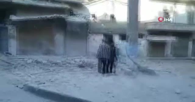 İdlib'de Pazar yerine saldırı: 10 ölü