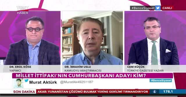 Kamuoyu araştırmacısı Dr. İbrahim Uslu'dan çarpıcı yorum: Üçüncü ittifak yolda!