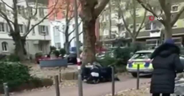 Almanya'da polis şiddeti kamerada