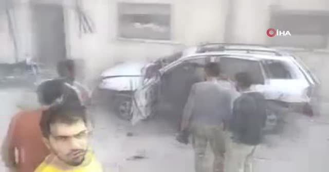 El Bab'ta bomba yüklü araç infilak ettirildi