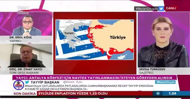 Emekli Tümamiral Cihat Yaycı'dan çapıcı uyarı: Kendi körfezinde Navtex yayınlamak ülkeye ihanettir