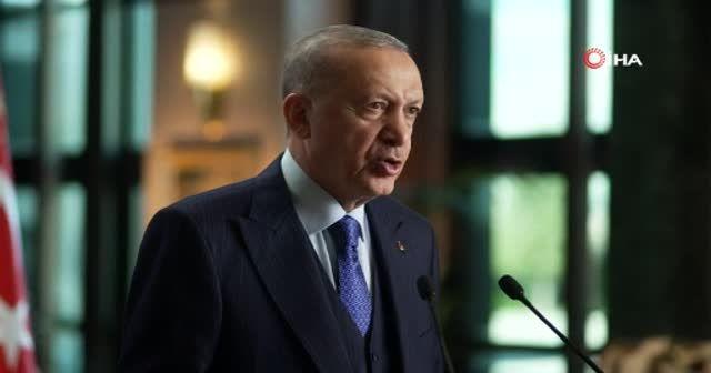 Erdoğan'dan iklim değişikliği mesajı