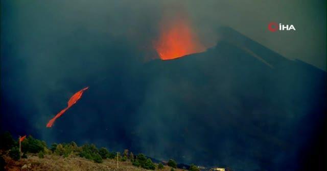 La Palma'da lavlar uydudan görüntülendi: Felaketin boyutu korkutucu