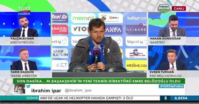 Medipol Başakşehir'in yeni hocası Emre Belözoğlu oldu