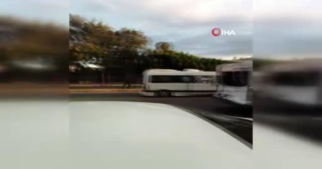 Otobüsle minibüsün çarpıştığı feci kazada can pazarı!