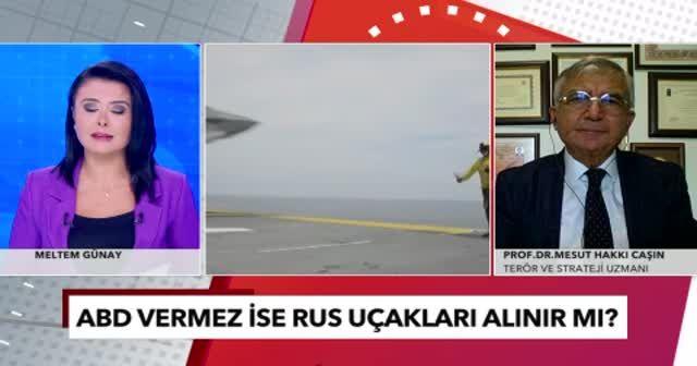 Prof. Dr. Mesut Hakkı Caşın'dan Türkiye'nin ABD'den F-16 talebinde İsrail ve Yunanistan detayı
