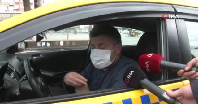 Taksiciden tuhaf savunma