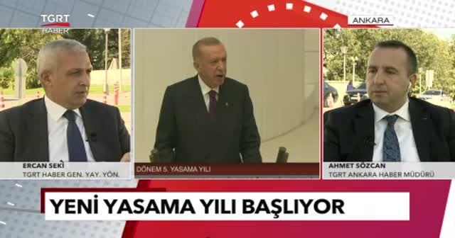 TGRT Haber Genel Yayın Yönetmeni Ercan Seki'den meclis yorumu: Türkiye şenlenecek