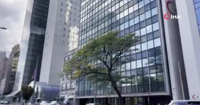 New York'taki Türkevi'nin önünde şüpheli paket alarmı