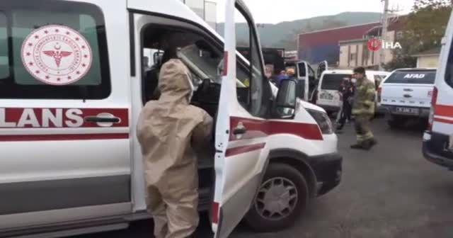 Plastik fabrikasında patlama: Yaralılar var