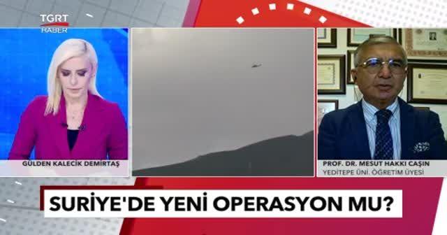 Prof. Dr. Mesut Hakkı Caşın operasyon hazırlığını yorumladı: PKK'yı korku sardı