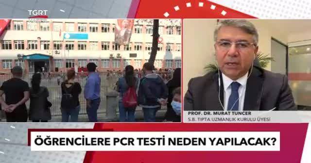 Prof. Dr. Murat Tuncer'den velilerin içini rahatlatan açıklama: Tükürük testi yapılacak