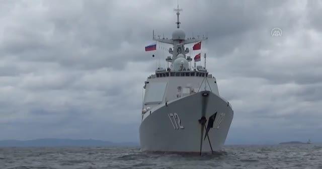 Rusya ve Çin'den 'Deniz Etkileşimi 2021' ortak askeri tatbikatı