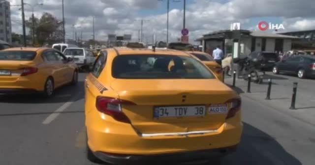 Yolcu seçen taksiciye ceza